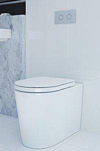 CONCEALED TOILETS, feature a hidden cistern which can be installed in a wall cavity, roof space or within a vanity bench top.
