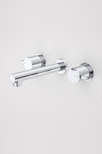 BATH TAP SETS, include wall or hob mounted options. A set includes taps and a bath spout.