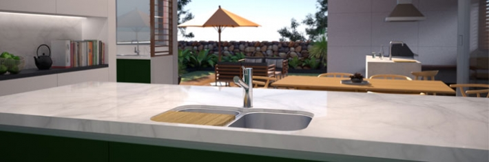 Clark - Kitchen Sink - Monaco - 2
