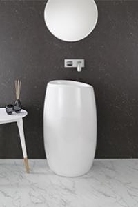 FREESTANDING BASINS add a stylish, beautiful and indulgent bathroom centrepiece