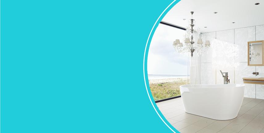 Baths. Turn your bathroom into an oasis.