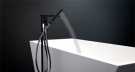 Dorf Jovian Freestanding Bath Mixer with Hand Shower