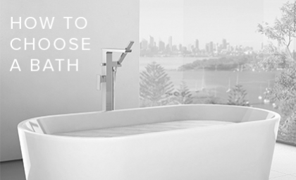 How to Choose a Bath for your Bathroom by Caroma