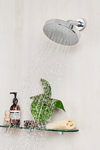 FIXED WALL SHOWERS. Found the perfect height for your shower? Why not go for a fixed wall shower to gaurantee the experience every time.