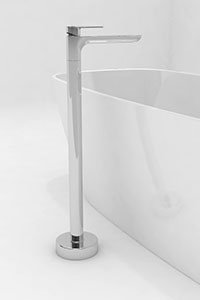 FREESTANDING BATH FILLERS, for a standout look, this tapware is fixed directly to the floor and used with freestanding baths.