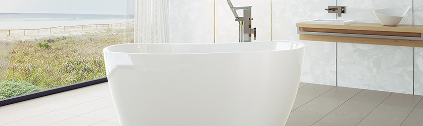 Baths. Create a bathroom sanctuary.