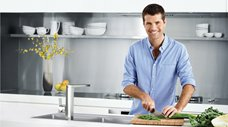 Clark and Pete Evans Team Up To Deliver Chef Inspired Kitchen Sink Range